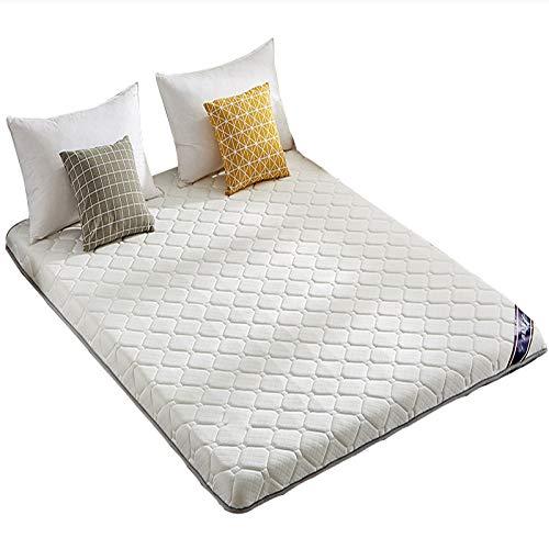 ZLBIN Double Single Floor Mattress, Latex Mattress , Student Dormitory Folding Mattress,futon Floor Mattress,soft And Breathable,150 * 190cm