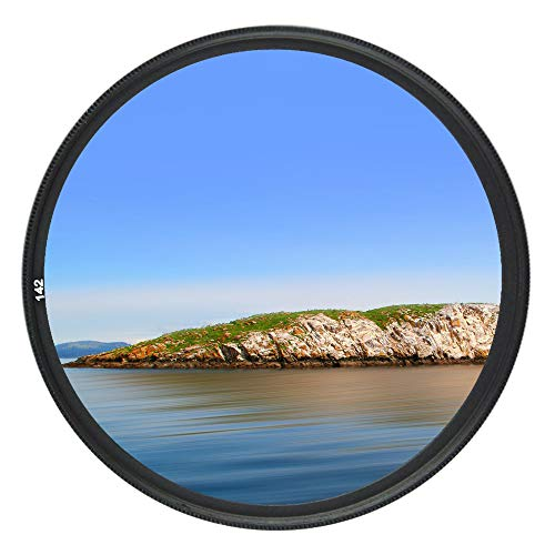 JJC Multi-Coated 49mm UV Filter for Canon EOS M50 M50 Mark II M5 M6 M6 Mark II M200 M100 with Canon EF-M 15-45mm f/3.5-6.3 is STM Kit Lens and Other Lenses with 49mm Filter Thread