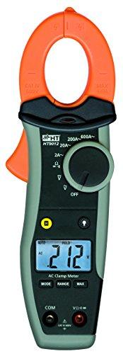 HT-Instruments, Amperometro digitale a pinza 600A AC con funzione mA, CAT IV 600V, HT9012