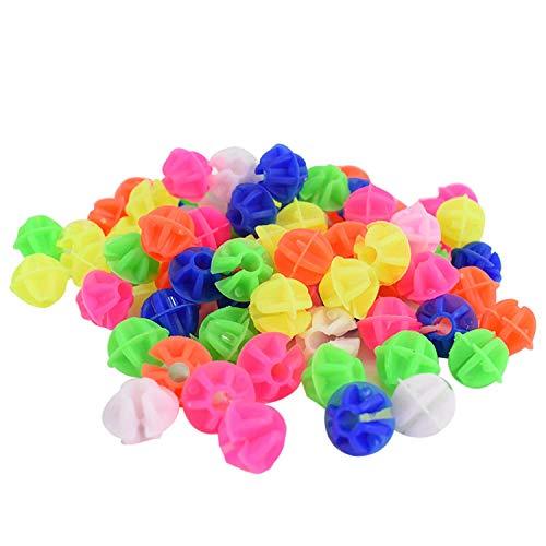 TRIXES 72 farbige Fahrrad Speichen Perlen