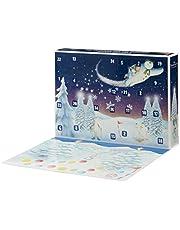 Snögubbe 07067 Adventskalender Snögubbe Och Snöhund, Flerfärgad