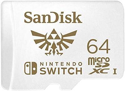 SanDisk MicroSDXC UHS-I Card for Nintendo Switch