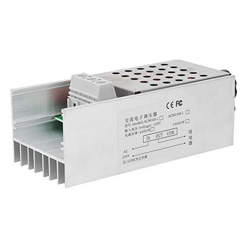 Gobernador de velocidad del motor, regulador de voltaje, regulación de voltaje Termostato SCR duradero Soldador eléctrico para lámpara de horno eléctrico Motor pequeño