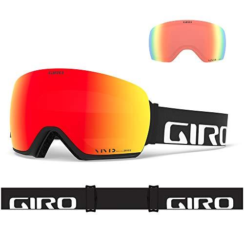 Giro S ARTICLE black wordmark viv ember/viv infra