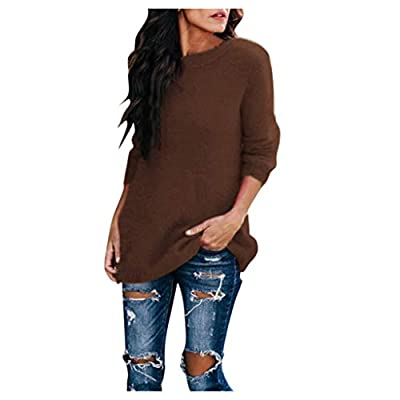 Women Sweaters Crewneck Wainter