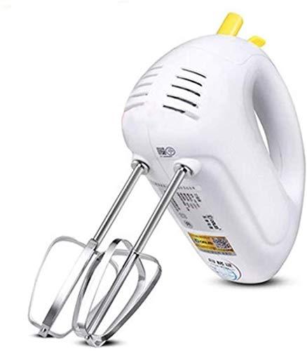 Handmixer, tragbarer elektrischer Hand-Schneebesen Hochleistungs-Handmixer Standmixer Elektrische Handmixer für die Küche 7-Gang-Einstellungen Whisks-Orange