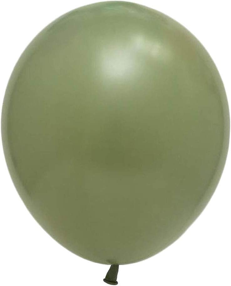 Sage Green Balloons 100pcs 5inch Eucalyptus Latex Balloons for W