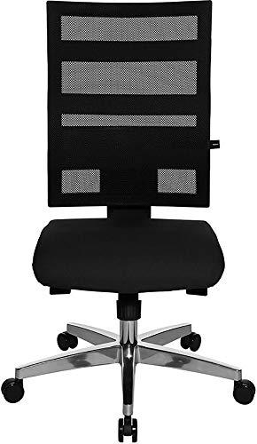 Topstar X-Pander - Silla de oficina ergonómica, diseño en forma de panal de abeja, bicolor (2 tonos de negro) ✅