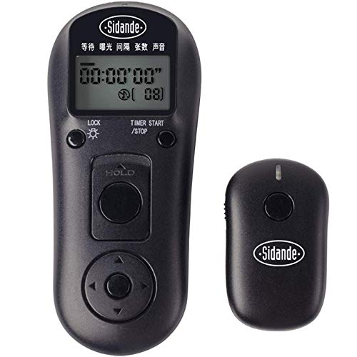 Photography /& Camera Acc Camera Accessories Sidande WX2001 Shutter Release Wireless Remote Control for Camera Pentax K10D K20D K100D 1000D 550D 500D GX-1L GX-1S 1 x Receiver 1 x Transmitter