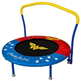 Bounce Pro My First Wonder Woman 36-Inch Trampoline, with Handlebar
