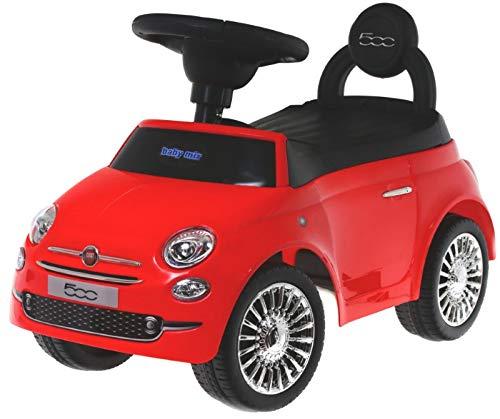 Voiture sans pédale Babymix Fiat 500 HZ620 (Rouge)
