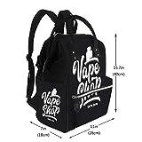 Baby Care Diaper Backpack Vape Shop Vaping Diaper Bags Backpack