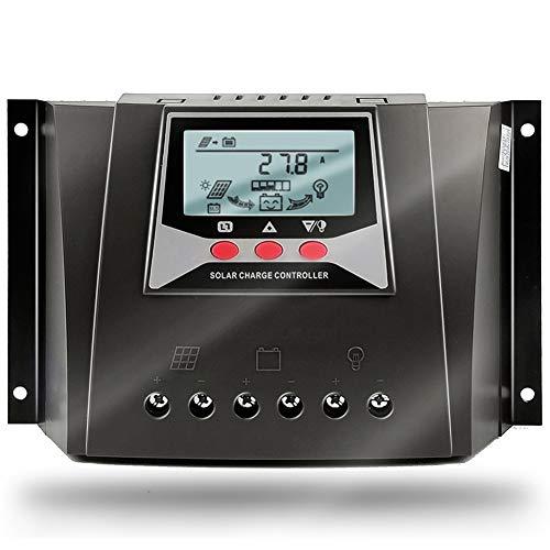 SolaMr 60A Controlador Solar de Carga 12V/24V/36V/48V Voltaje de Identificación Automática...