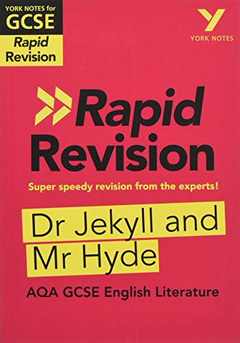 Price comparison product image York Notes for AQA GCSE (9-1) Rapid Revision: Dr Jekyll and Mr Hyde - Refresh,  Revise and Catch up!