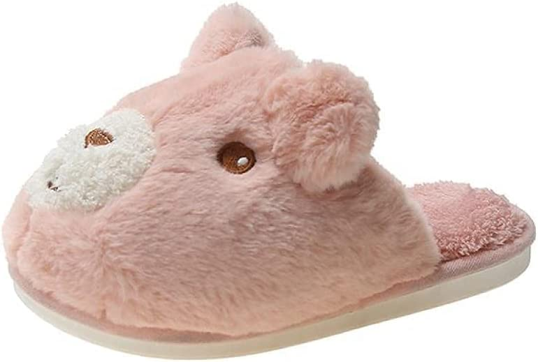 LUXMAX Beautiful Gorgeous Safety and trust Winter Home Plush Flood ,Home Slippers Ska