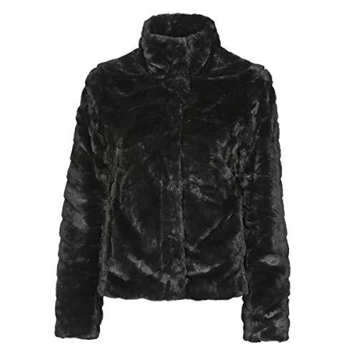 Vila NOS Damen VIALIBA Jacket/SU-NOOS Jacke, Black, 40
