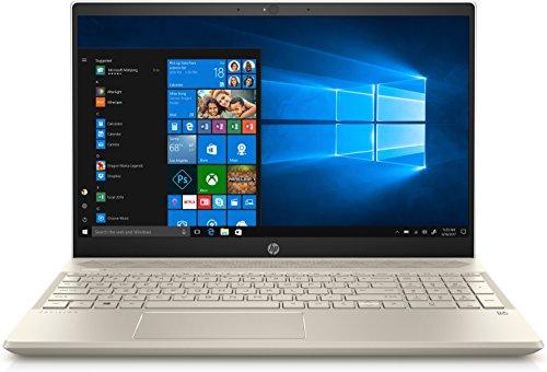 HP Pavilion 15-cs0072wm Oro, Plata Computadora portátil 39.6 cm (15.6') 1366 x 768 Pixeles Pantalla táctil 8ª generación de procesadores Intel® Core™ i7 i7-8550U 8 GB DDR4-SDRAM 1000 GB Unidad de disco duro - Ordenador portátil (8ª generación de procesadores Intel® Core™ i7, 1.80 GHz, 39.6 cm (15.6'), 1366 x 768 Pixeles, 8 GB, 1000 GB)