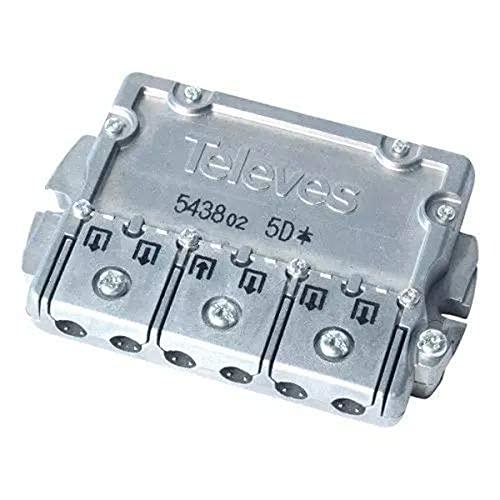 Televés 543802 Repartidor 5 direcciónes ict-cc