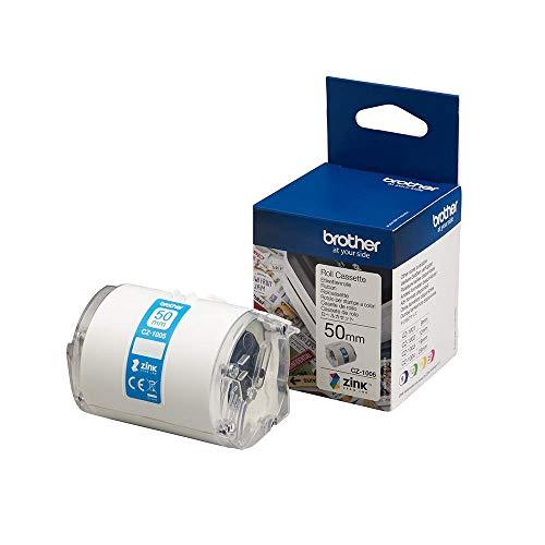 Brother CZ-1005 - Cintas para impresoras de etiquetas (CZ, inyección de tinta, VC-500W), azul 🔥