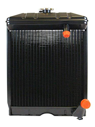 4 ROW Radiator For Jubilee NAA NAB For Ford Tractors 500 501 541 600 650 740 801...
