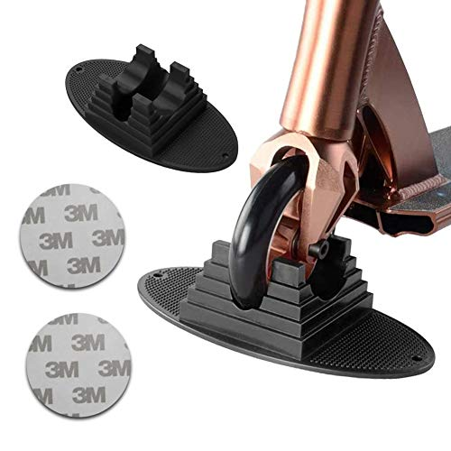 Scooter Soporte Universal con Soporte de Scooter de Base Extra Estable Adecuado La Mayoría Patinete Freestyle para de 95 mm a 120 mm Scooters Rueda