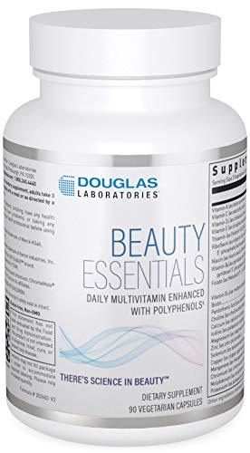 Douglas Laboratories Beauty Essentials   Daily Multivitamin Enhanced with Polyphenols   90 Vegetarian Capsules