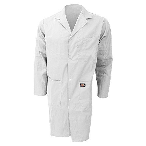 Manteau de travail Dickies Redhawk pour homme (XL) (Blanc)