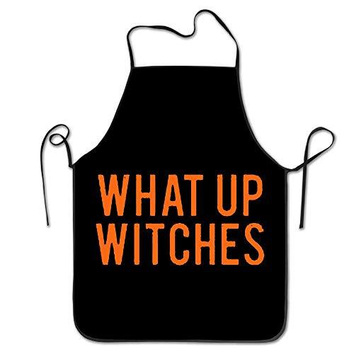 Surce Schort What Up heks Halloween Chef keukenschort geschenk 28,3 x 20,4 inch