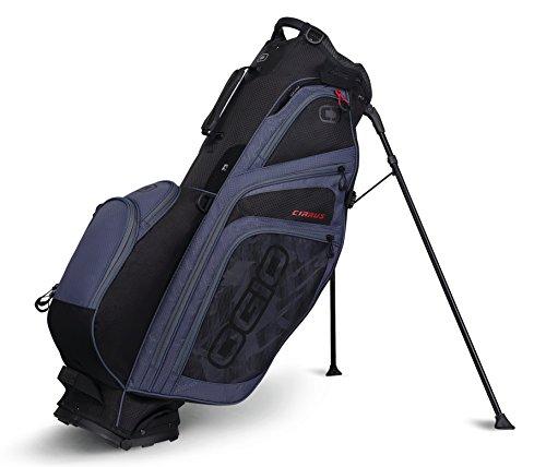 OGIO 2018Cirrus Stand Bag, Cirrus Stand Bag, Soot Black