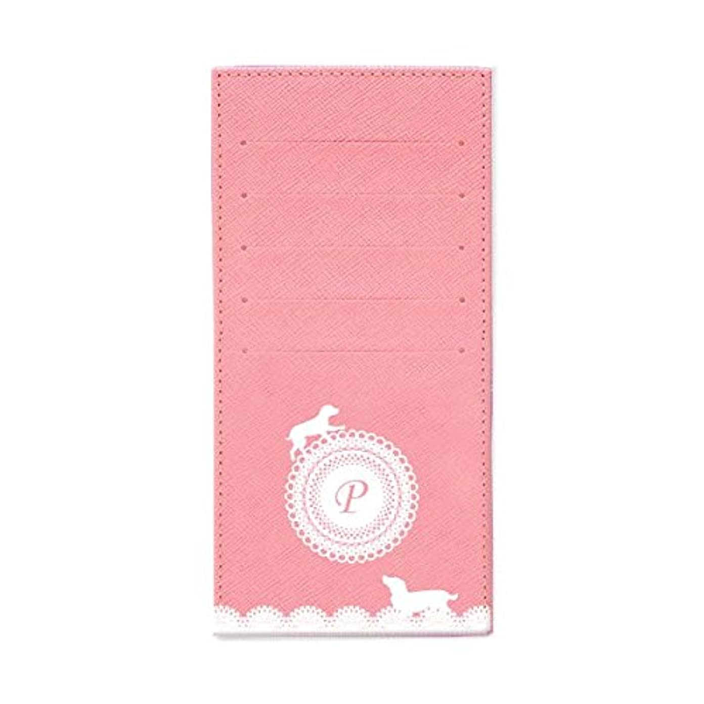 金額イソギンチャク名声インナーカードケース 長財布用カードケース 10枚収納可能 カード入れ 収納 プレゼント ギフト 3020レースネーム (P) パウダーピンク mirai