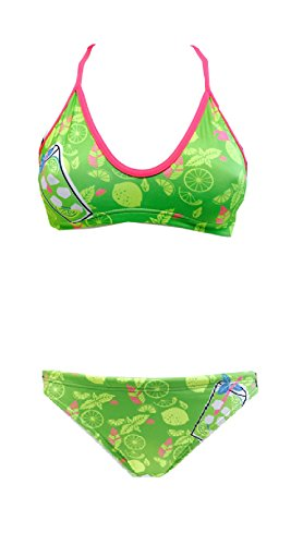 Turbo Bikini Mojito (Mare) Mix & Match Swimkini - Top + Slip separat bestellbar (Slip 40 / Turbo 2XL)