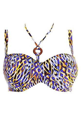 Antigel La Wax des Plages Bikini Bandeau BH mit abnembaren Träg BLEU 80F