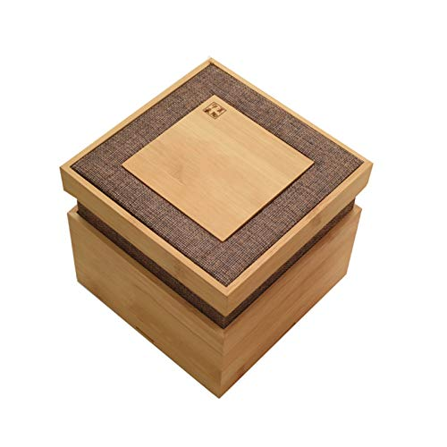 Bolsa de té Caddy Box Organizer Caja de Almacenamiento de Madera té té Caja de Regalo Caja de Almacenamiento Caja de té Organizador de té para Bolsas de té Almacenamiento