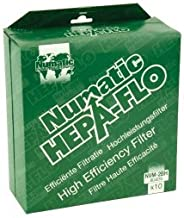 Numatic HEPA-Flo Canister Vacuum Cleaner Bags, NVM-2BH Part Number 604016. 10 Bags Per Pack. by Numatic