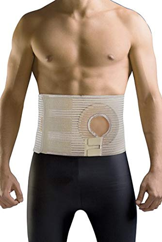 Uriel Abdominal Ostomy Belt for Post-Operative Care After Colostomy Ileostomy Surgery (L)