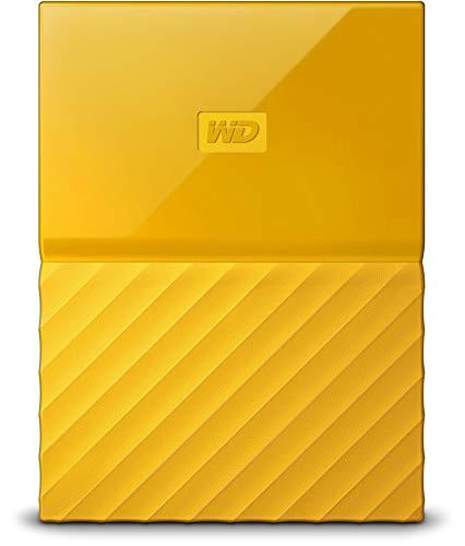 WD 4TB Yellow USB 3.0 My Passport Portable External Hard Drive (WDBYFT0040BYL-WESN)