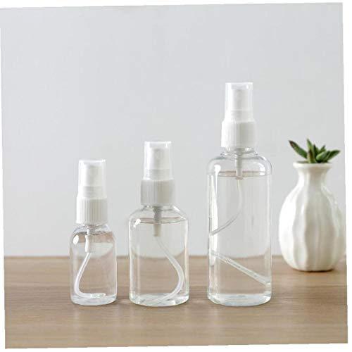30ml Transparent Bouteilles Spray Vide Plastique Mini Rechargeables Récipient Vide Cosmétiques Conteneurs