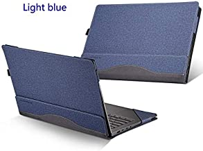 "BALOO-Laptop Bags & Cases - Case For for Lenovo 2018 YOGA C930 13.9"" 920 910 900 Laptop Sleeve For YOGA 7 Pro 13IKB 6 5 4 Pro PU Leather Protective Cover Gift (Light blue For Yoga 900)"