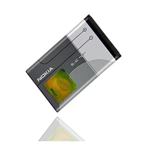 ORIGINAL Akku accu Batterie battery für Nokia 3208, 3555, 3650, 3660, 5030, 5130 XPM, 6030, 6085, 6086, 6205, 6230, 6230i, 6263, 6267, 6270, 6555, 6600, 6620, 6630 - 1020mAh - Li-Ionen - (BL-5C)