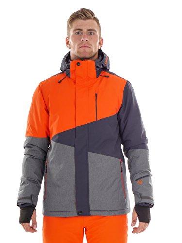 Brunotti Herren Idaho Snowjacket Jacke, Spicy Orange, XL