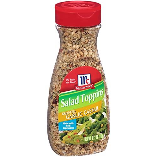 McCormick Salad Toppins Roasted Garlic Caesar, 4.12 oz (Pack of 6)