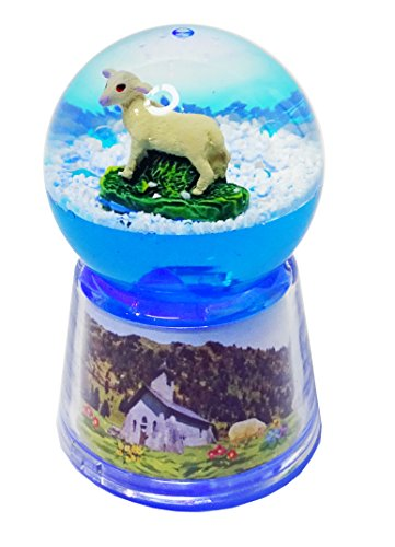 KDO-JOUETS.COM Boule Mouton Lumineuse LED - Bleu