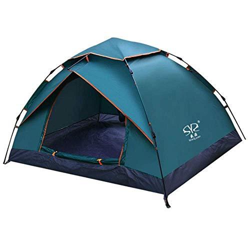 L.TSA Tente de Camping en Plein air Tente imperméable à Double Couche et système de Rangement Double Couche pour Homme