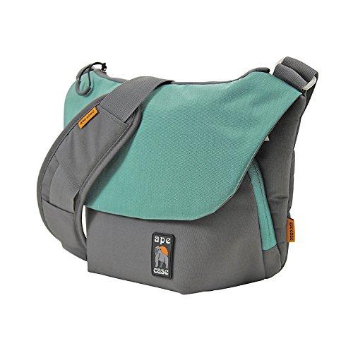 Ape Case Envoy DSLR Bag, DSLR Messenger Bag, DSLR Shoulder Bag, Carry On Messenger Bag, School Messenger Bag, Nylon, Teal