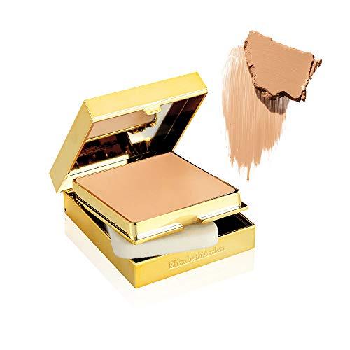 Elizabeth Arden Flawless Finish – Foundation Sponge-On Cream Make-up, in Honey Beige, 23 g, Grundierung mit Diamantstaub für Frauen, bis zu 12 h Halt, cremige Textur