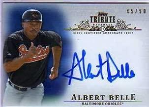 2013 Topps Tribute Autographs Blue #AB3 Albert Belle Autograph Card Serial #'d/50