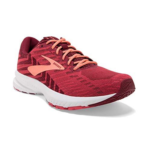 Brooks Damen Launch 6 Laufschuhe, Rot (Rumba Red/Teaberry/Coral 628), 38.5 EU