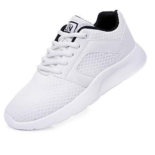 Uricoo Herren Damen Sneaker Outdoors Straßenlaufschuhe Sports KletterschuheTurnschuhe Running Fitness Atmungsaktiv Leichte Laufschuhe Sportschuhe 8996WT47
