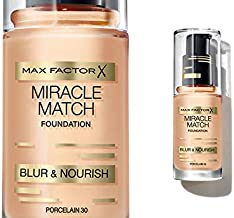 Max Factor Miracle Match Foundation Blur And Nourish 30 Porcelain