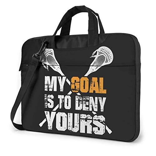 My Goal is to Deny Yours Laptop Bag Shockproof Briefcase Shoulder Bags Carrying Case Laptop Briefcase